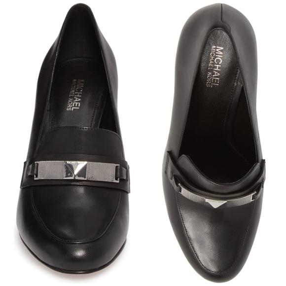 Michael Kors Shoes | Black Sheila